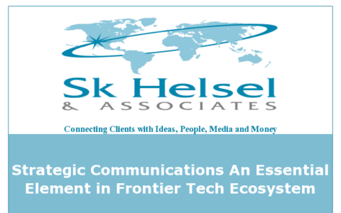 Communications Are Essential in Frontier Tech Ecosystem